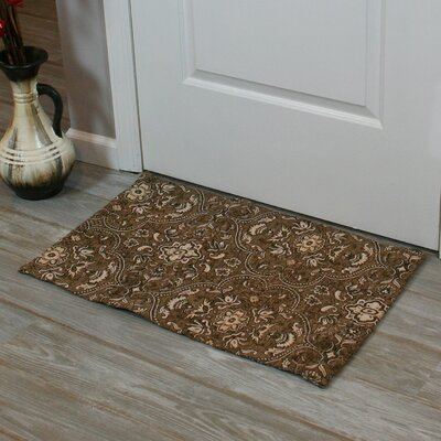 Festoon Hand-Woven Brown Indoor Area Rug Rug Size: 26 x 42