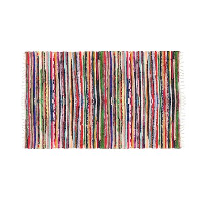 Chindi Hand-Woven Area Rug Rug Size: Rectangle 26 x 39
