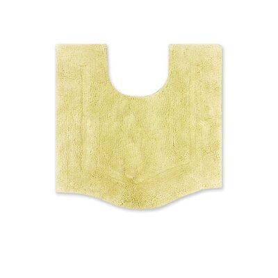 Waterford Bath Rug Size: 20 W x 20 L, Color: Yellow