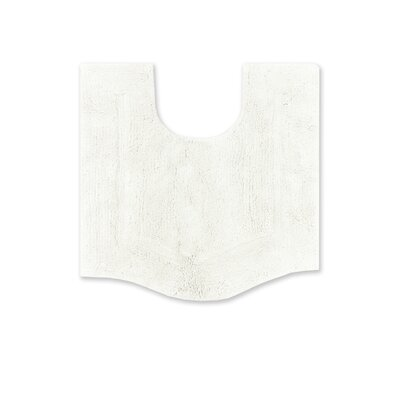 Shera Contour Rug Color: White