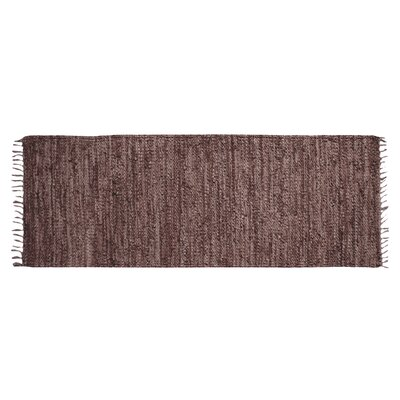 Rodeo Hand-woven Brown Area Rug