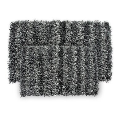 SeaBreeze 2 Piece Hand-Woven Gray Novelty Rug Set