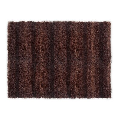 SeaBreeze Hand-Woven Chocolate Novelty Rug