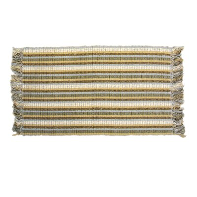ChainLink Hand-Woven Spa Indoor Area Rug