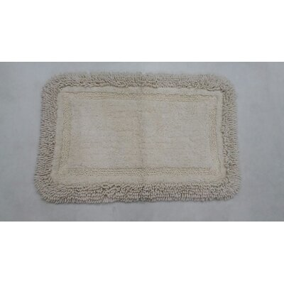 Westlake Bath Rug Size: 17 W x 24 L, Color: White