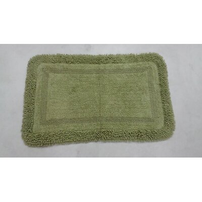 Westlake Bath Rug Size: 17 W x 24 L, Color: Green