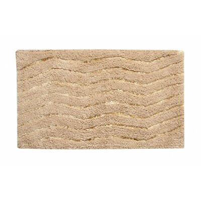 Artesia Bath Rug Color: Natural, Size: 21 W x 34 L