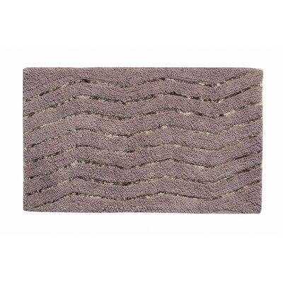 Artesia Bath Rug Color: Gray, Size: 17 W x 24 L
