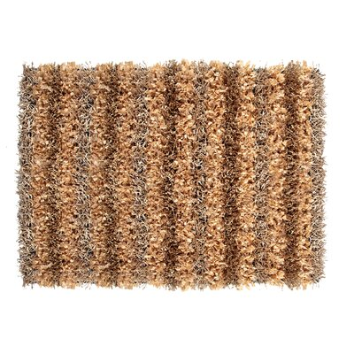 SeaBreeze Hand-Woven Champagne Novelty Rug