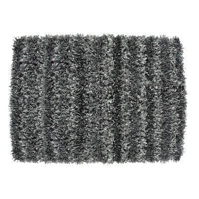 SeaBreeze Hand-Woven Gray Novelty Rug