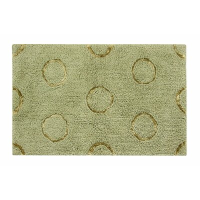 Delano Bath Rug Size: 21 W x 34 L, Color: Green