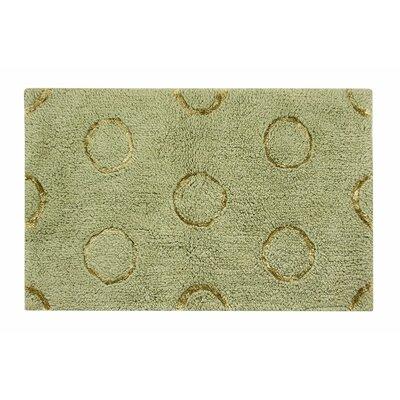 Delano Bath Rug Size: 21 W x 34 L, Color: Green