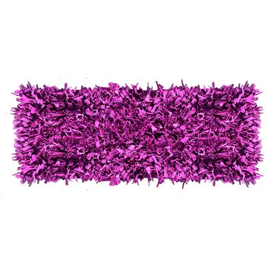 Jersey Hand-Knotted Purple Area Rug Rug Size: Runner 2 x 6