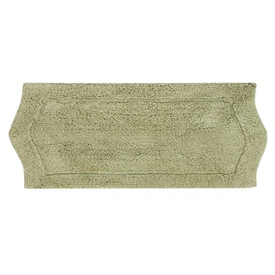 Waterford Bath Rug Size: 22 W x 60 L, Color: Green