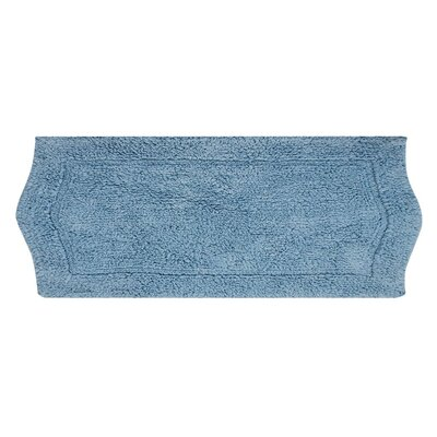 Shera Bath Rug Size: 22 W x 60 L, Color: Blue