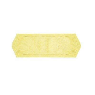 Shera Bath Rug Size: 22 W x 60 L, Color: Yellow