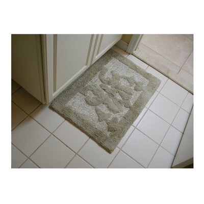 Lake Wood Bath Rug Color: Beige