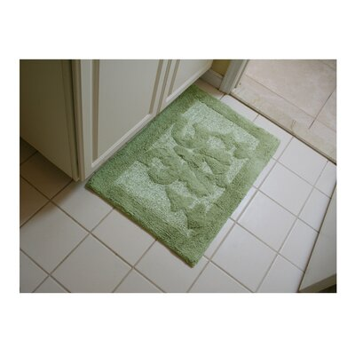 Lake Wood Bath Rug Color: Green
