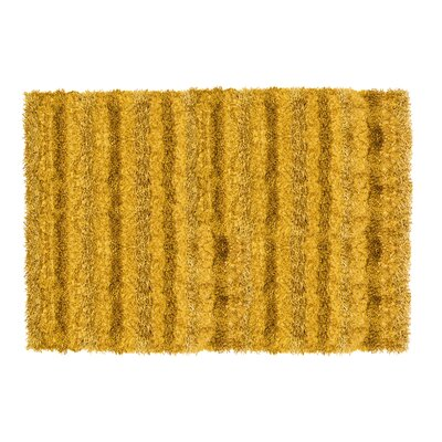 SeaBreeze Hand-Woven Gold Novelty Rug