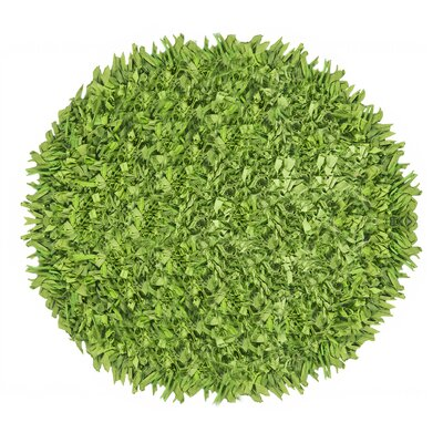 Antonio Shaggy Round Accent Bath Rug