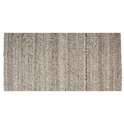 Hand-Woven Ash Gray Area Rug