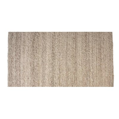 Hand-Woven Rectangle Copper Area Rug