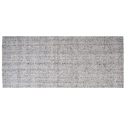 Hand-Woven Blue Ash Area Rug