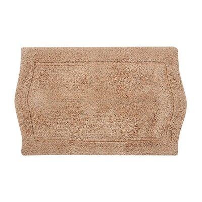 Shera Bath Rug Size: 21 W x 34 L, Color: Linen