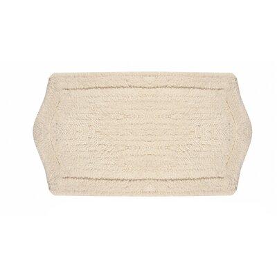 Shera Bath Rug Size: 21 W x 34 L, Color: Natural