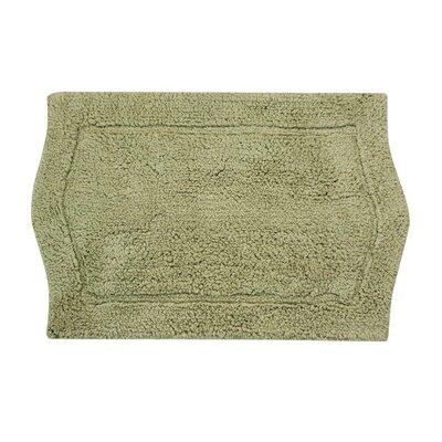 Shera Bath Rug Size: 21 W x 34 L, Color: Green