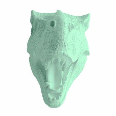 Michaud Jurassic Dinosaur T-Rex Faux Taxidermy Color: Mint Green