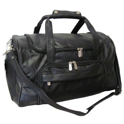 "18"" Apc Leather Travel Duffel"
