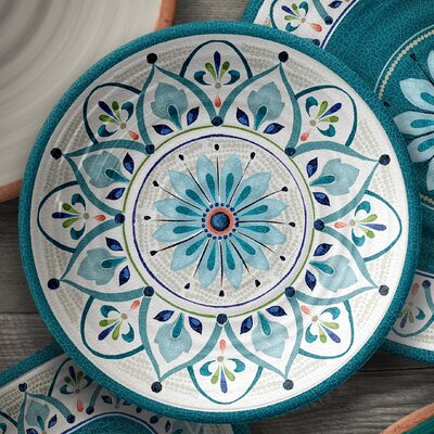 Tenerife Melamine Salad Plate