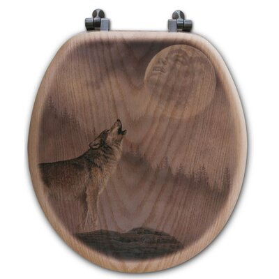 Kindred Spirit Oak Round Toilet Seat
