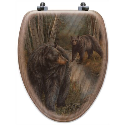 Birchwood Bears Toilet Seat Shape: Elongated