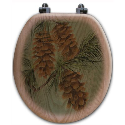 Pine Cone New Toilet Seat Shape: Round