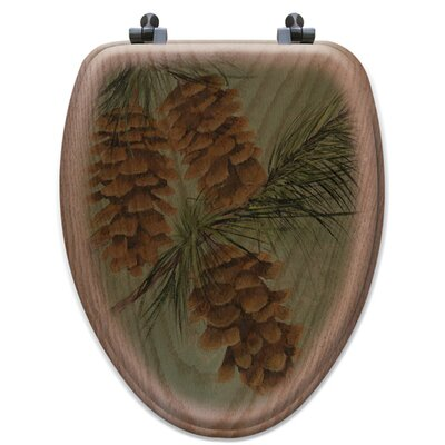 Pine Cone New Toilet Seat Shape: Elongated