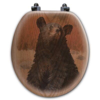 Bear Cub Toilet Seat Shape: Round