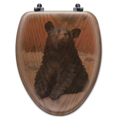 Bear Cub Toilet Seat Shape: Elongated
