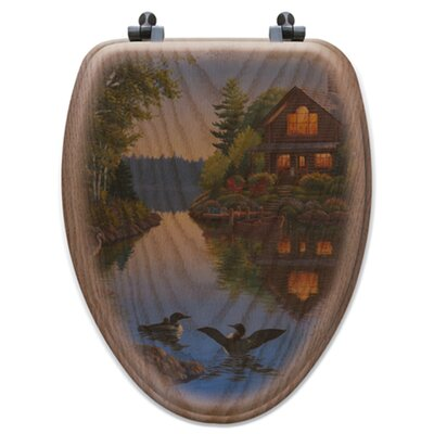 Lake Cabin Toilet Seat Shape: Elongated
