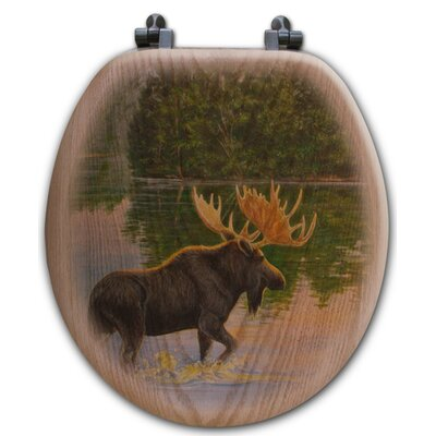 Lake Moose Toilet Seat Shape: Round