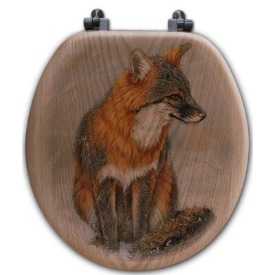 Gray Fox Toilet Seat Shape: Round