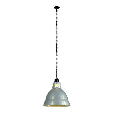 Para 1-Light Bowl Pendant Shade Color: Silver Gray