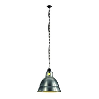 Para 1-Light Bowl Pendant Shade Color: Aluminum