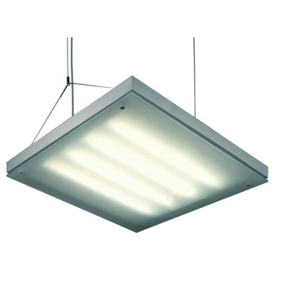 Grill 4-Light Pendant Shade Color: Silver Gray