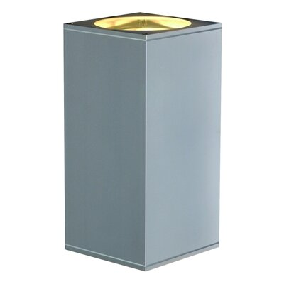 Theo 2 Light Flush Mount Finish: Silver Gray