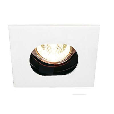 V Round 1 Wall Washer Recessed Trim