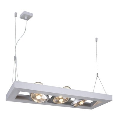 Grill 3-Light Kitchen Island Pendant