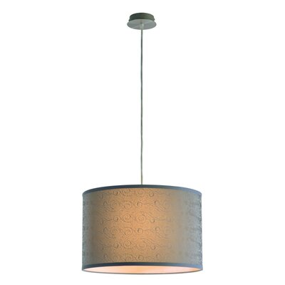 Cresa 1-Light Drum Pendant