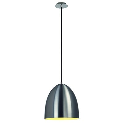 Para Cone 1-Light Mini Pendant Finish: Aluminum Brushed